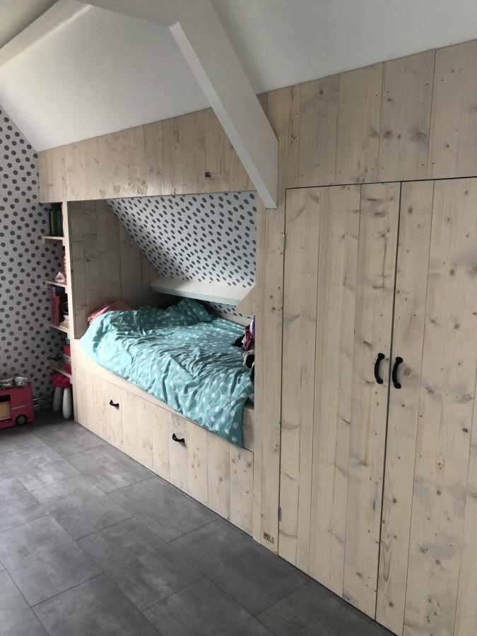 Slaapkamer Hout In De Kop